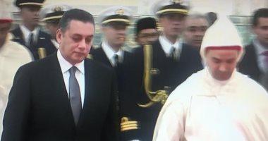 الملك محمد السادس يتسلم أوراق اعتماد سفير مصر بالمغرب