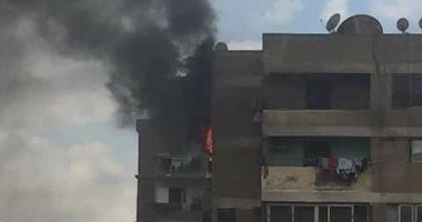 السيطرة على حريق داخل شقة سكنية فى العمرانية دون إصابات