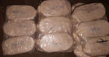 ننشر صور ضبط مكافحة المخدرات 1.5 طن حشيش داخل 3 حاويات تفاح بميناء دمياط
