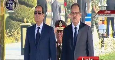 بدء فعاليات حفل عيد الشرطة بتلاوة آيات القرآن بحضور الرئيس السيسى
