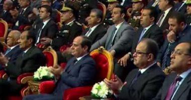 """""""وحدة وصف"""".. أغنية تحكى بطولات رجال الداخلية فى احتفال عيد الشرطة"""