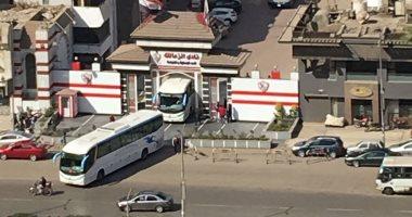 الزمالك يرسل 4 أتوبيسات لبرج العرب لحضور مباراة المصرى -
