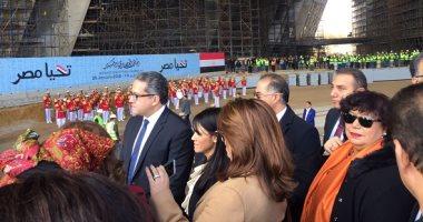 وزيرة السياحة: المتحف المصرى الكبير سيكون صرحا ثقافيا متكاملا