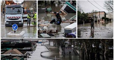 باريس تغرق فى الفيضانات وإجلاء المئات من منازلهم 201801250849494949.j