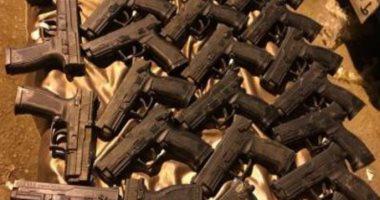 ضبط 194متهما بحوزتهم 213 قطعة سلاح نارى في حملة الأمن العام بالمحافظات