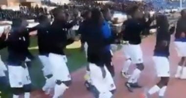 شاهد.. كيف يستعد منتخب نامبيا لمواجهة المغرب فى أمم إفريقيا للمحليين