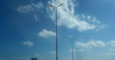 مطالب بإنارة طريق مسجد الفتاح العليم: الظلام دامس والطريق عليه ضغط كبير