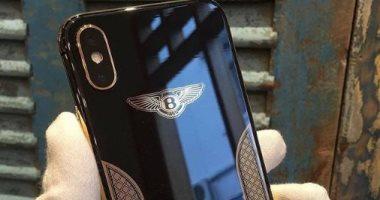 إطلاق نسخة Bentley من أيفون X مطلية بالذهب عيار 18 -