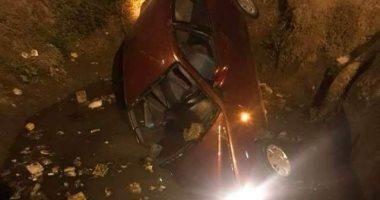 مصرع شخص وإصابة أربعة فى حادث تصادم ببنى سويف
