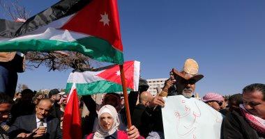 صور.. مظاهرات أمام برلمان الأردن احتجاجا على إلغاء دعم الخبز
