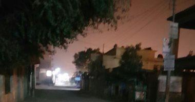 صور.. اضبط مخالفة.. الظلام يسود مناطق بمدينة الواسطى فى بنى سويف