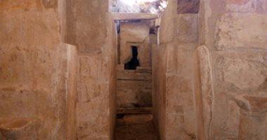 """شاهد مقبرة """"حتبت"""" المكتشفة بالجبانة الغربية فى منطقة الهرم"""