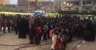 صور.. انتظام الدراسة بـ591 مدرسة فى شمال سيناء