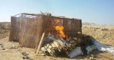 الجيش الثالث الميدانى يدمر 16 وكرا للعناصر التكفيرية بوسط سيناء