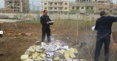 ليبيا تعثر على صناديق تحمل شعار الهلال الأحمر القطرى لتهريب الأسلحة