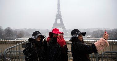 إغلاق برج إيفل بسبب سوء الطقس وتساقط كثيف للثلوج بباريس
