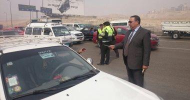مدير المرور يتفقد الطرق السريعة والصحراوية و يشدد على تأمين الرحلات