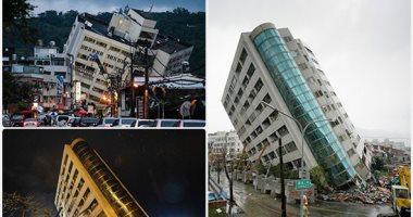 زلزال جديد بقوة 5.7 ريختر يضرب ساحل تايوان الشرقى