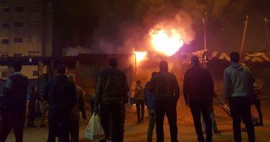 تحقيقات النيابة: انفجار اسطوانة غاز وراء حريق شقة بمنطقة مصر القديمة