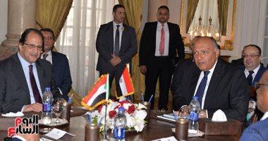 اجتماع وزراء خارجية ورؤساء أجهزة المخابرات فى مصر والسودان