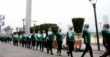 حملة تحدى عبور مصر تنظم ماراثون لرفع الوعى بالنمو السكانى