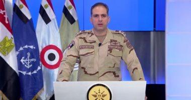 """بدء المؤتمر الصحفى للمتحدث العسكرى حول تطورات """"العملية الشاملة"""""""
