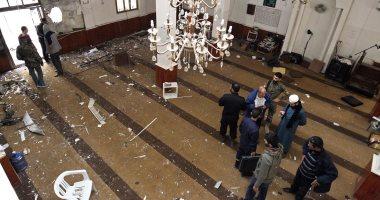 ننشر الصور الأولى لحادث تفجير مسجد بنغازى فى ليبيا