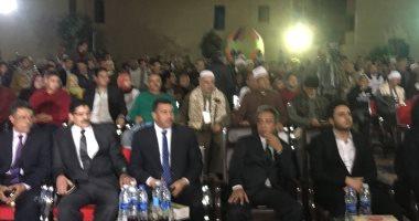 صور..رئيس الجمعية الخليلية بأسيوط يدعو المصريين لانتخاب السيسي لفترة ثانية