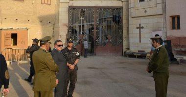 مدير أمن سوهاج يتفقد الاستعدادات الأمنية بالمحافظة