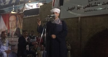فيديو.. محمود ياسين التهامى: صوتى للسيسي لأنه أعاد الأمن والأمان لمصر