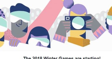 فيس بوك  يحتفل بانطلاق دورة الألعاب الأولمبية الشتوية لعام 2018  -