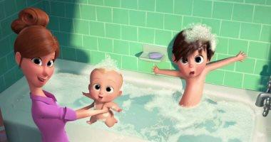 أستحمام الطفل-أرشيفية