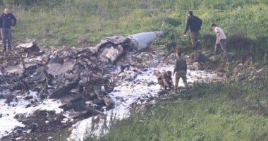 سقوط طائرة تدريب فى لبنان وميقاتى يطلب الاستنفار