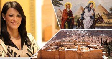 """""""السياحة"""": أول أفواج زيارة مسار العائلة المقدسة بمصر 17 يونيو المقبل"""
