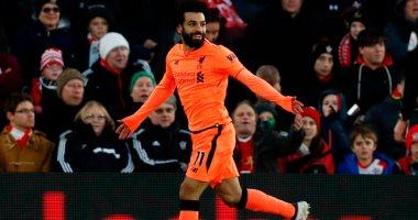 محمد صلاح يسجل هدف ليفربول الثاني أمام كريستال بالاس ويعادل رقم دروجبا