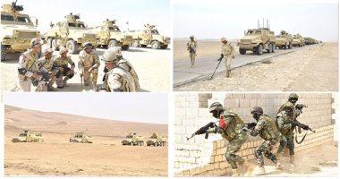 بعد قليل.. القوات المسلحة تذيع البيان السابع لنتائج العملية سيناء 2018