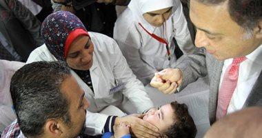 صحة أسوان: تطعيم 241 ألف طفل بالحملة القومية لشلل الأطفال