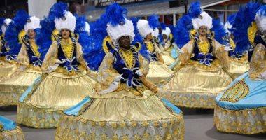 """فن ورقص وبهجة فى كرنفال """"مدارس السامبا"""" بشوارع البرازيل"""