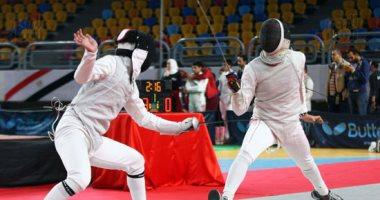 منافسات ساخنة فى البطولة العربية للسلاح باستاد القاهرة