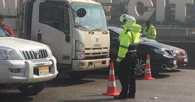 المرور تضبط 4593 مخالفة متنوعة أثناء القيادة على الطرق السريعة