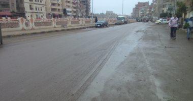 سقوط أمطار على مناطق متفرقة بحلايب وشلاتين