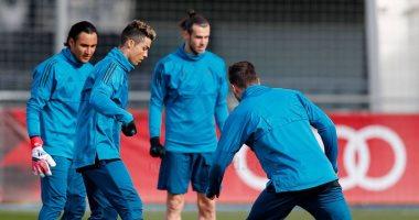 شاهد.. التدريب الأخير لريال مدريد قبل قمة باريس سان جيرمان الأوروبية