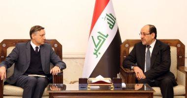 نورى المالكى يؤكد لسفير ألمانيا ببغداد أهمية تواصل الجهد الدولى لدعم العراق
