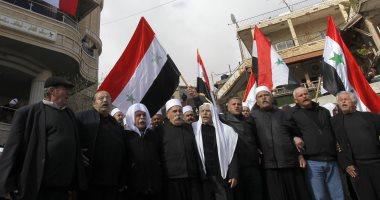 صور.. مظاهرات لأبناء الجولان فى الذكرى الـ 36 للإضراب الشامل ضد الاحتلال