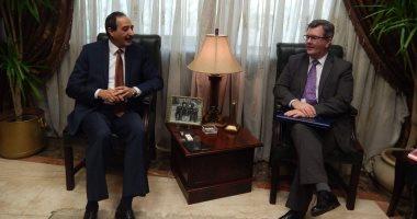 رئيس ميناء الإسكندرية ومبعوث رئيس الوزراء البريطانى يبحثان سبل التعاون