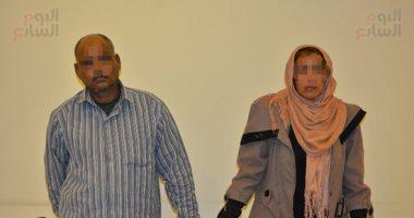 صور..  نعمة  قتلت زميلتها  سامية  لسرقة مصواغاتها و 10 آلاف جنيه