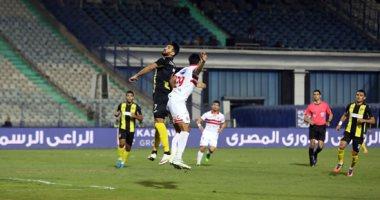 أحمد الشناوى ينقذ الزمالك من طوفان دجلة بالشوط الأول