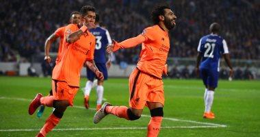 محمد صلاح يسجل فى اكتساح ليفربول لبورتو بخماسية فى دورى أبطال أوروبا