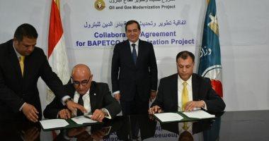 """وزير البترول يشهد توقيع اتفاقيتين مع شركة """"شلمبرجير"""" العالمية"""