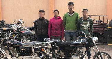 القبض على 4 متهمين بسرقة دراجة نارية من أمام قصر ثقافة الإسماعيلية